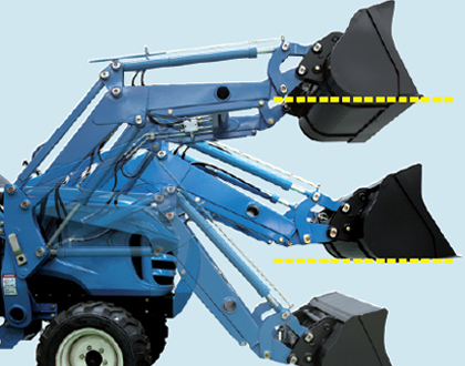 Automatic Loader bucket leveling