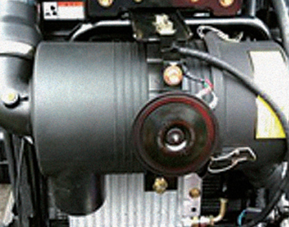 Large capacity Air cleaner