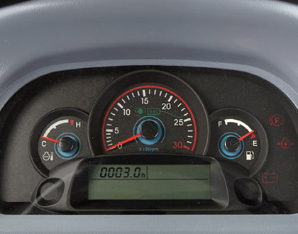 Full function dash panel